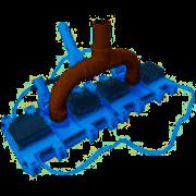 Aspirador 16 Rodas Plastico 000456