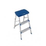 Banco Escada Aluminio 3 Degraus 7896020651079