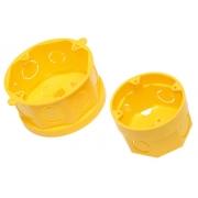 Caixa Plast 4 X 4 Octo F.Movel Amarela 11555