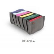 Colmeia 6 Compart. Tnt Cinza 15x28x10cm 04142006