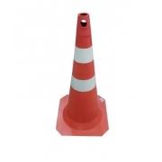 Cone 75cm Fit Branco/Laranja 70000503