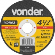 Disco Corte Vdr 02 4,5 1215412187