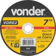 Disco Corte Vdr 02 7p  1215718780
