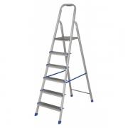 Escada Aluminio 6 Degraus 005104