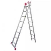 Escada Extensiva Aluminio 3 Em 08 X2 Degraus Esc0617