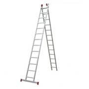 Escada Extensiva Aluminio 3 Em 13 X2 Degraus Esc0622