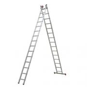 Escada Extensiva Aluminio 3 Em 15 X2 Degraus Esc0624