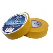 Fita Isolante Amarela 19mm X 0,13mm X 20m 29085
