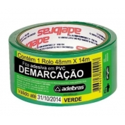Fita P/ Demarcacao Verde Pvc 48 X 14 0803050006