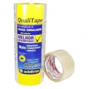Fita Transparente Qualitape 48mmx50m 0811000020
