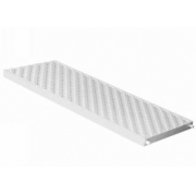 Grelha De Piscina Pvc Branco 130x500 Mm Grp130b