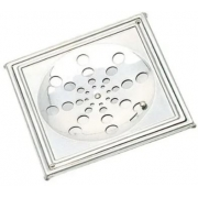 Grelha Inox Quadrada C/ Caixilio 15 X 15 108