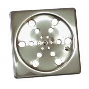 Grelha Inox Quadrada S/ Caixilio 10 X 10 105