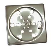 Grelha Inox Quadrada S/ Caixilio 15 X 15 107