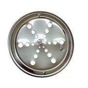 Grelha Inox Redonda C/ Caixilio 15 X 15 104