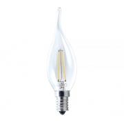 Lamp Led Vela Filamento Chama 2w 2700k Biv E14 433621