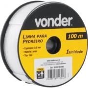 Linha P/Pedreiro 0.80mm X 100m 3323100080