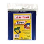 Lona Plastica Azul 3 X 2 M  A139