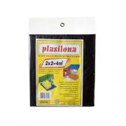 Lona Plastica Preta 2 X 2 M  C043