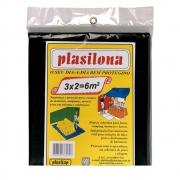 Lona Plastica Preta 3 X 2 M  A050