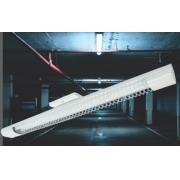 Luminaria C/Aletas Aco Branca 2 X 9w T8 15m 2004300190