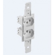 Mod Tomada 2p+T 2 Secoes 10a Br Condulet 13329645