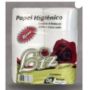 Papel Higienico Liz Premium 10x300m C/ 8 Unid 325.1