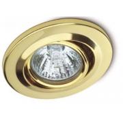 Plafon Emb Lamp Dicroica Dourado