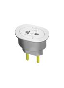 Plug 2p Universal Cz 10a 250v 12071