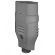Plug Femea 2p+T 10a Cinza 2764