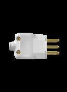Plug Macho Prensa Cabo 2p+T Br 10a 250v 14350