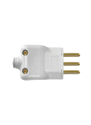 Plug Macho Prensa Cabo 2p+T Pt 10a 250v 14070