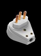 Plug Macho Prensa Cabo Extra Gig 2p+T Cz 10a 250v 14161