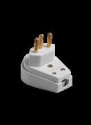 Plug Macho Prensa Cabo Gig 2p+T Cz 10a 250v 1416