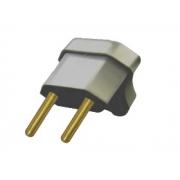 Plug Triangular 2p 10a Cinza 2780
