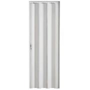 Porta Pvc Sanfonada 0,60 X 2,10 Branca 74000ne