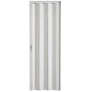 Porta Pvc Sanfonada 0,80 X 2,10 Branca 74800