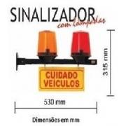 Sinalizador De Garagem Com Luzes Amar/Verm 102