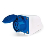 Tom Industrial Sob Azul 2p+T 220v 16a 40015