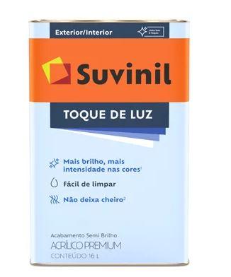 Acrilico Toque Luz Semibril Branco Neve Latao 53408562