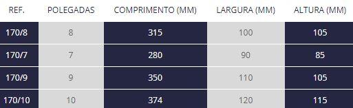 Colher De Pedreiro C/ Canto Arredondado 10 170/10
