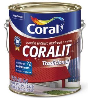 Coralit Tradicional Bril Cinza Medio Galao 5202687