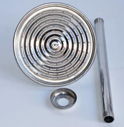 Ducha Cascata 3/4 Aluminio 12p 61833692