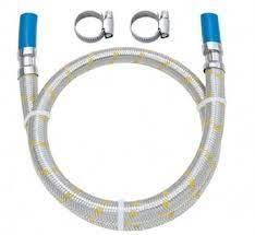 Engate Metal Inox P/Gas C/Adap 1,50m 1/2 X 3/8 18190441