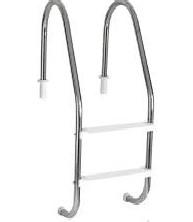 Escada 2 Degraus C/ Borracha E Chumb 000481