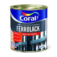 Ferrolack 1 Litro Preto 5203033