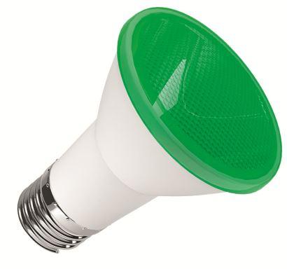 Lamp Par 20 Led 6w Verde 20220 0010221