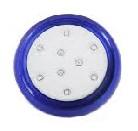 Lumin. Frio 18w 12v Azul Corpo 80mm Com Rosca 60010019