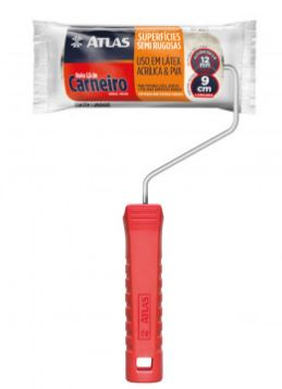 Rolo La Carneiro 09 Cm - 100% La 328/9