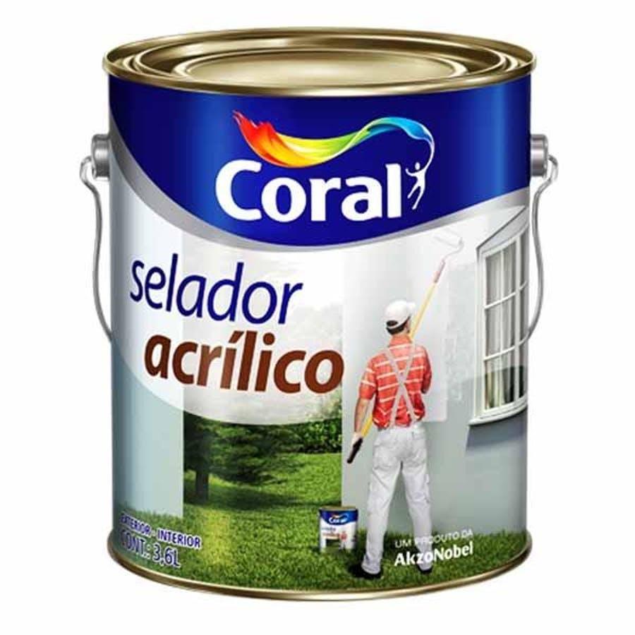 Selador Acrilico Galao 3,6 Branco 5202615